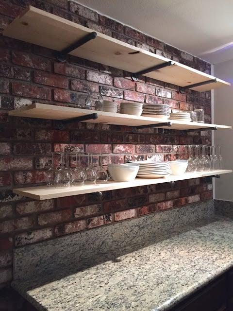 real-brick-wall-with-open-wood-shelving-for-kitchen-storage-sagebrush-ridge