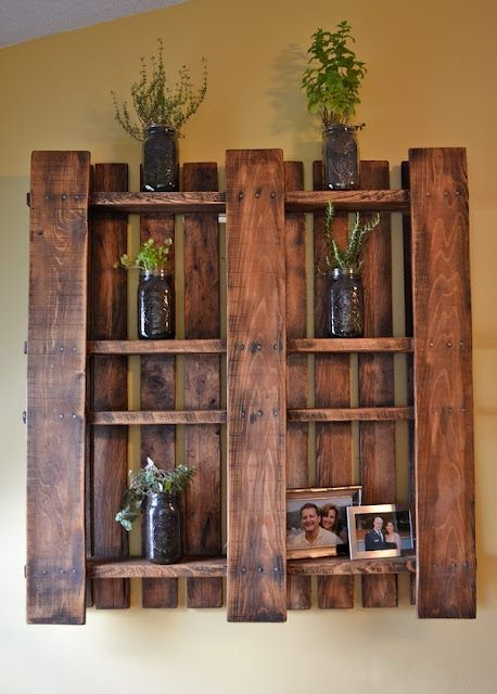 wall-shelf-and-herb-garden-from-a-sanded-and-stained-pallet-original-image-source-unknown