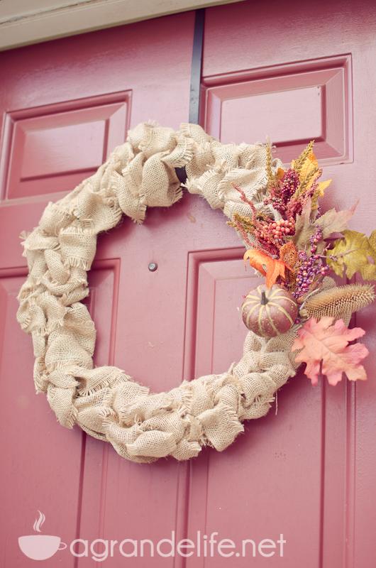 15 DIY Fall Wreaths A Grand Life Remodelaholic