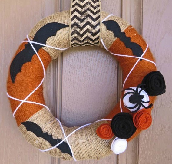 15 DIY Fall Wreaths Gemini Red Creations Remodelaholic