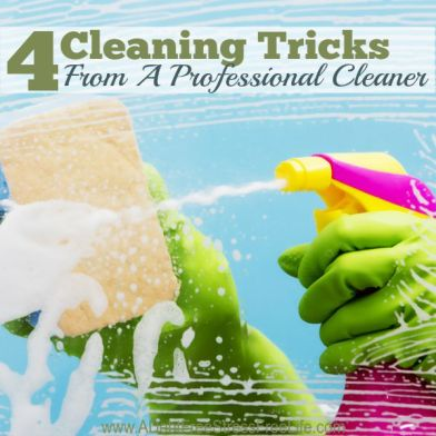4 Cleaning Tricks