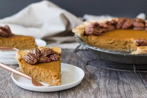 Bakin A Moment Pumpkin Pecan Pie
