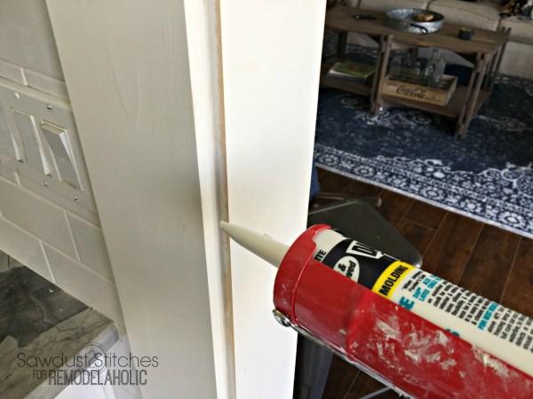 Casing A Doorway. Remodelaholic.com