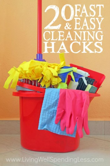 Cleaning Hacks Vertical