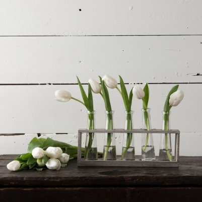 Distressed Vase Holder Magnolia Market DIY