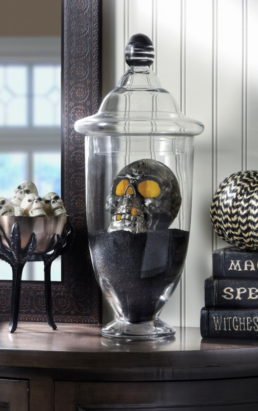 DIY Halloween Spooky Skull Display DIY Candy