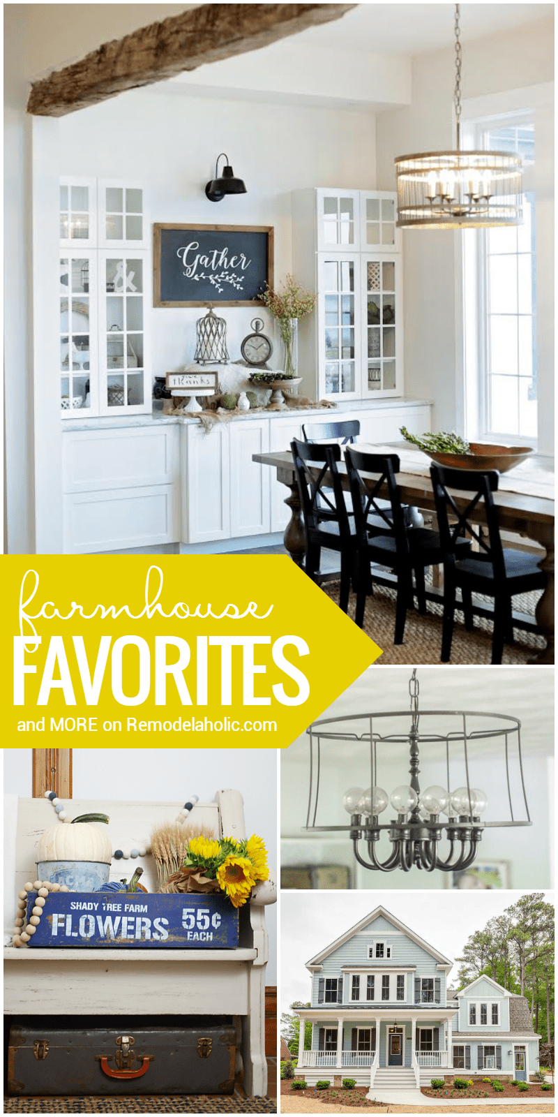 Remodelaholic | Friday Favorites: Fabulous Farmhouse Style and More