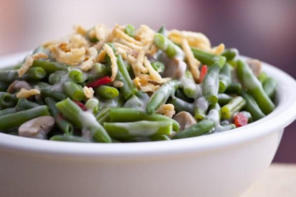 Green Bean Casserole Happiness Is Homemade