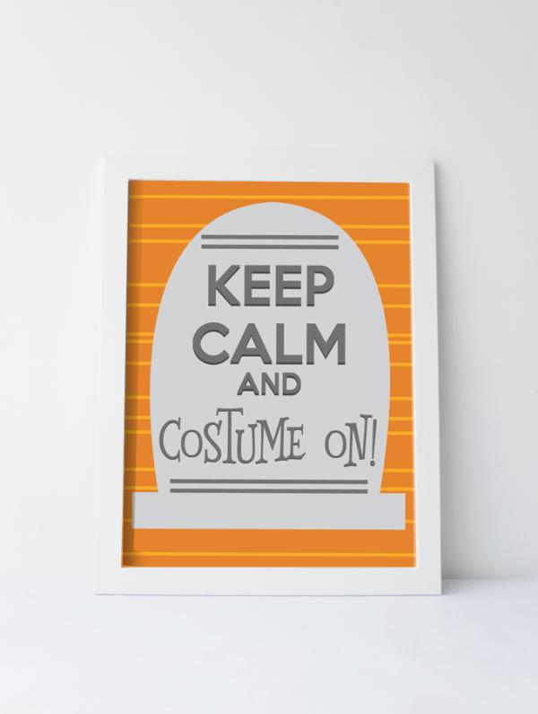 Halloween Keep Calm Printable See Vanessa Craft