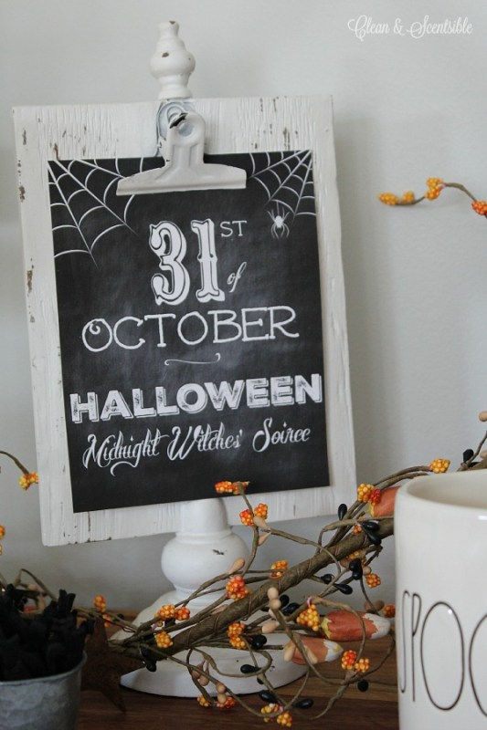 Halloween Printables Clean And Scentsible