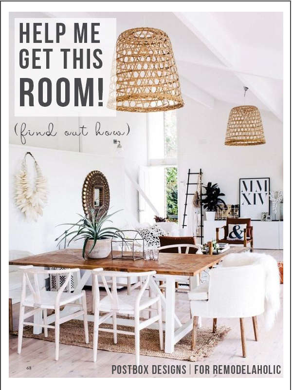 How To Design Your Own Room From An Inspiration Photo | How To Create A Boho