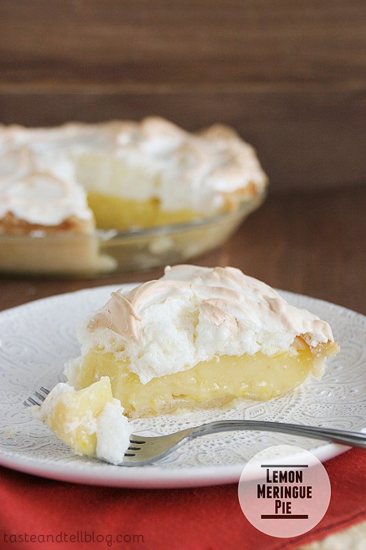 Lemon Meringue Pie Recipe Taste And Tell