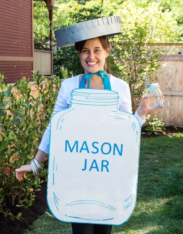 Mason Jar Easy Halloween Costume