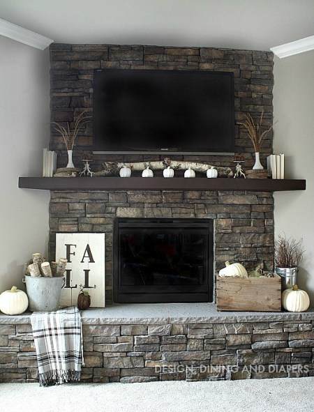 NEUTRAL FALL MANTEL BY DESIGNDININGANDDIAPERS.COM 4