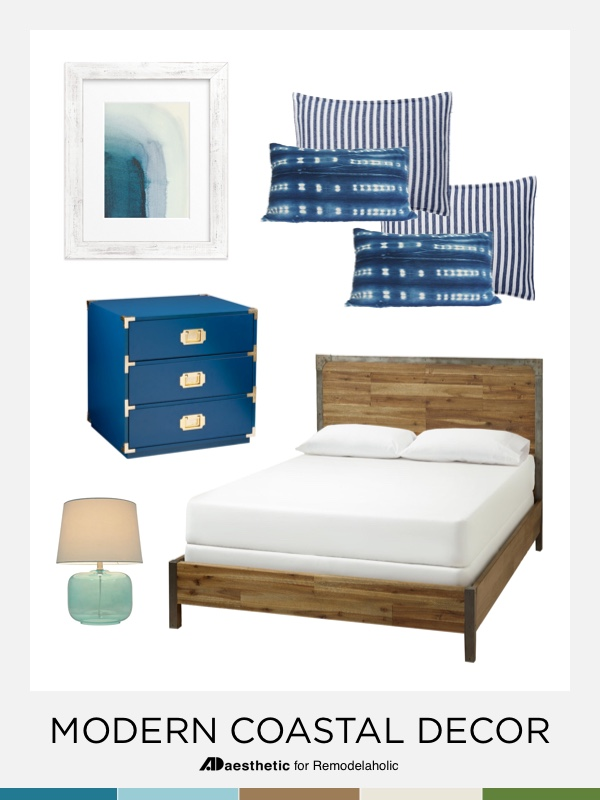 Modern Coastal Bedroom Inspiration and Tips