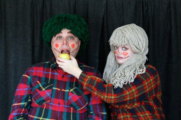 Scarecrow Couple Costume