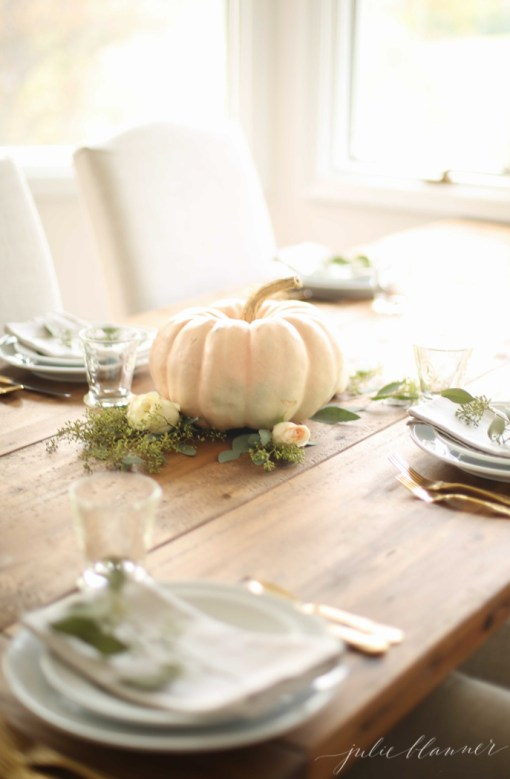 Thanksgiving Centerpiece By Julie Blanner Remodelaholic
