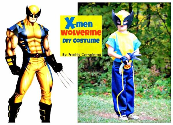 X Men Wolverine Costume