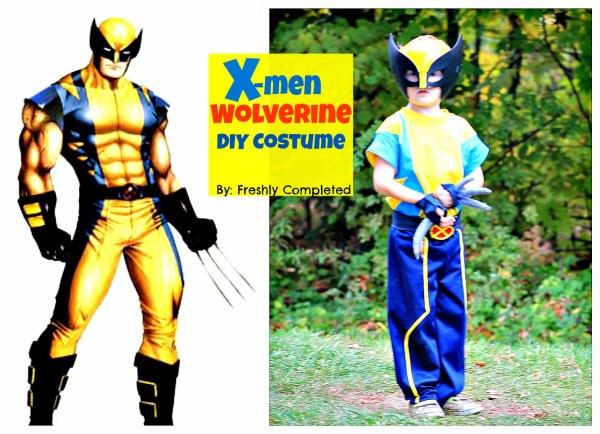 X Men Wolverine Costume