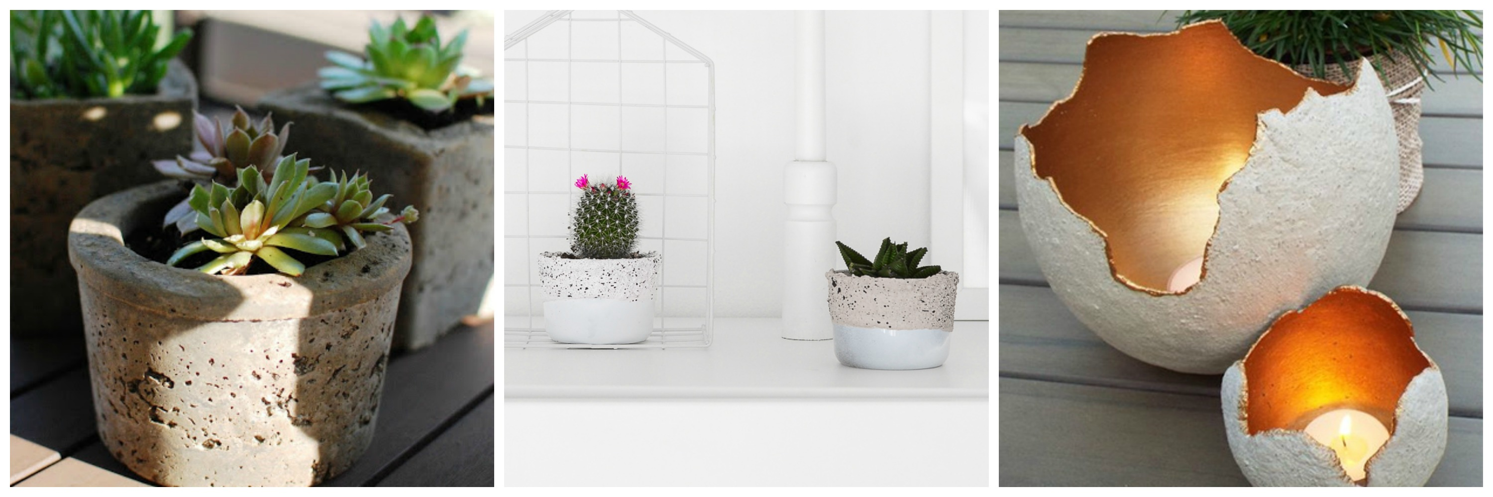DIY Cement Pot Magnolia Market DIY