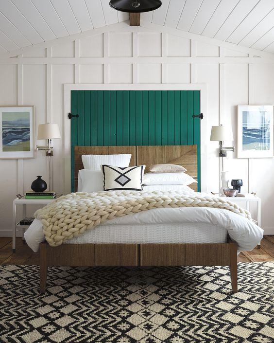 Remodelaholic  Modern Coastal Bedroom Decor Tips