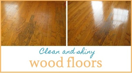 Free Natural Secret To Getting Shiny Wood Floors
