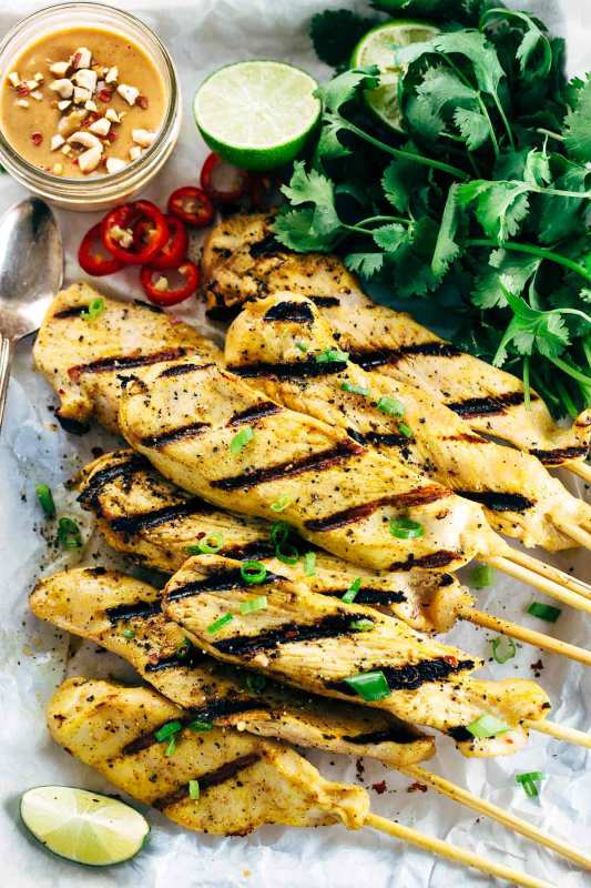 grilled-chicken-satay-skewers-with-peanut-sauce