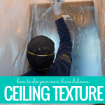 How To Apply Your Own Knockdown Ceiling Texture Remodelaholic