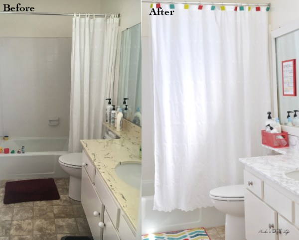 Kids Bathroom Makeover Before And After Anikas DIY Life
