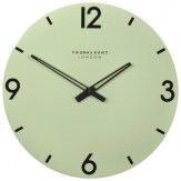 Mint And Copper Kitchen Clock
