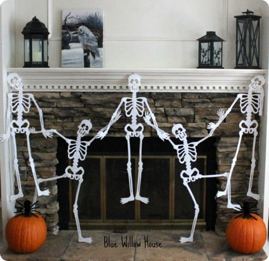 Dancing Skeleton Mantel