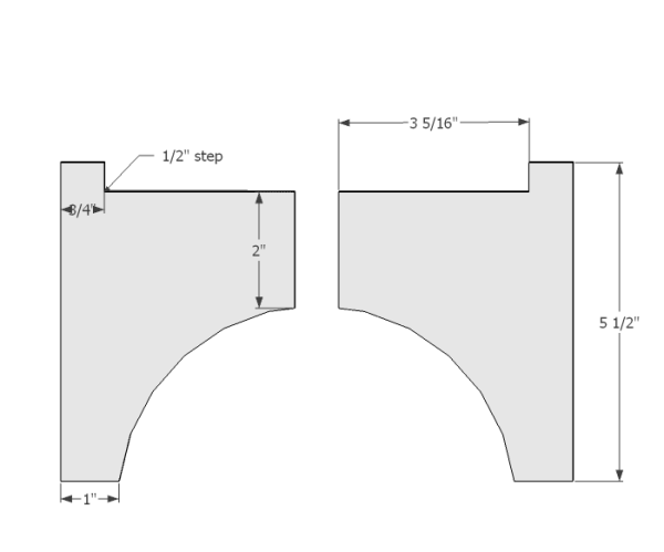 West Elm Planter Large Cutting Template 1