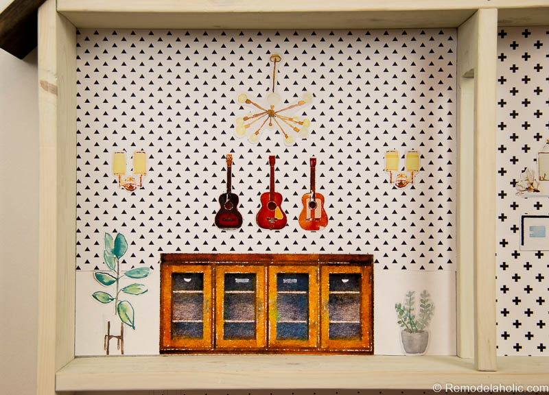 Remodelaholic Diy Dollhouse Tutorial Free Printable