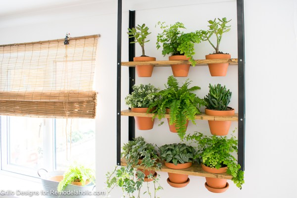 Easy Diy Industrial Wall Planter
