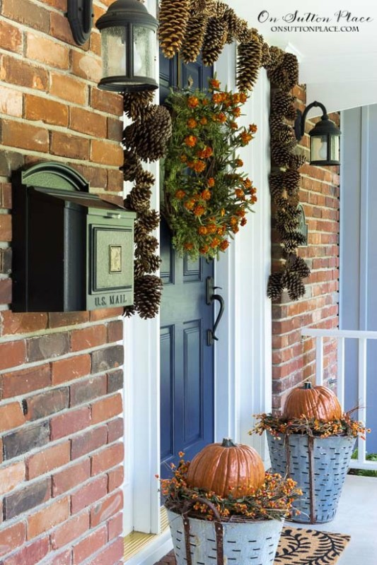 Fall Front Porch Decor