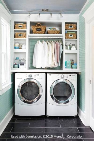 Laundry Room Envy For People Who Still Use Quarters Mint Green Laundry Room 56c73bc0cc657e184583d611 W620 H800