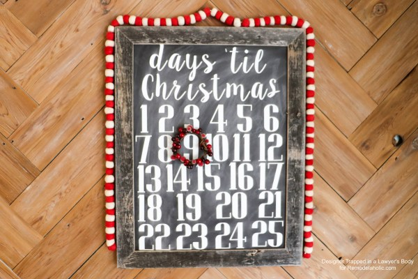 Reusable Faux Chalkboard Signs 9