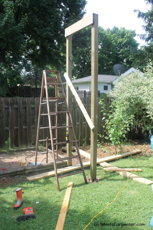 3 Build Your Own American Ninja Warrior Course By Girl Meets Carpenter Featured On @Remodelaholic