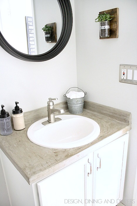 Remodelaholic 20 Easy Diy Bathroom Projects Autos Post