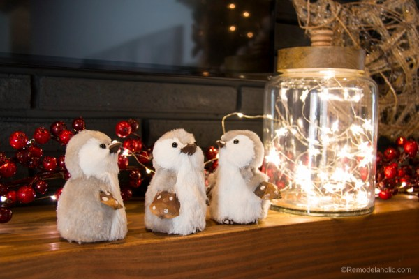 Christmas Mantel With Pier1 Remodelaholic 3 Of 20