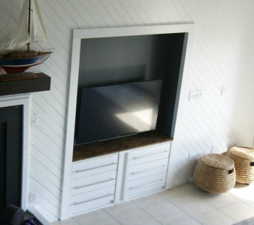 IKEA Hack: RAST Built-In Media Center