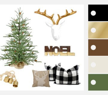Featured Farmhouse Holiday Decor Mood BoardImage
