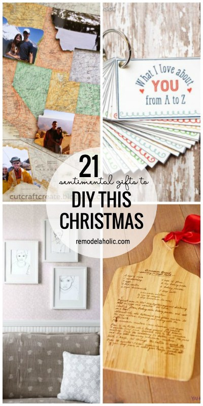 Remodelaholic 21 sentimental gifts to diy this christmas pull on the heartstrings with these 21 sentimental gifts to diy this christmas featured on remodelaholic solutioingenieria Image collections