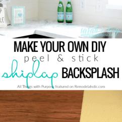 Installing Kitchen Backsplash Red Cabinets Remodelaholic | Diy Budget-friendly White ...