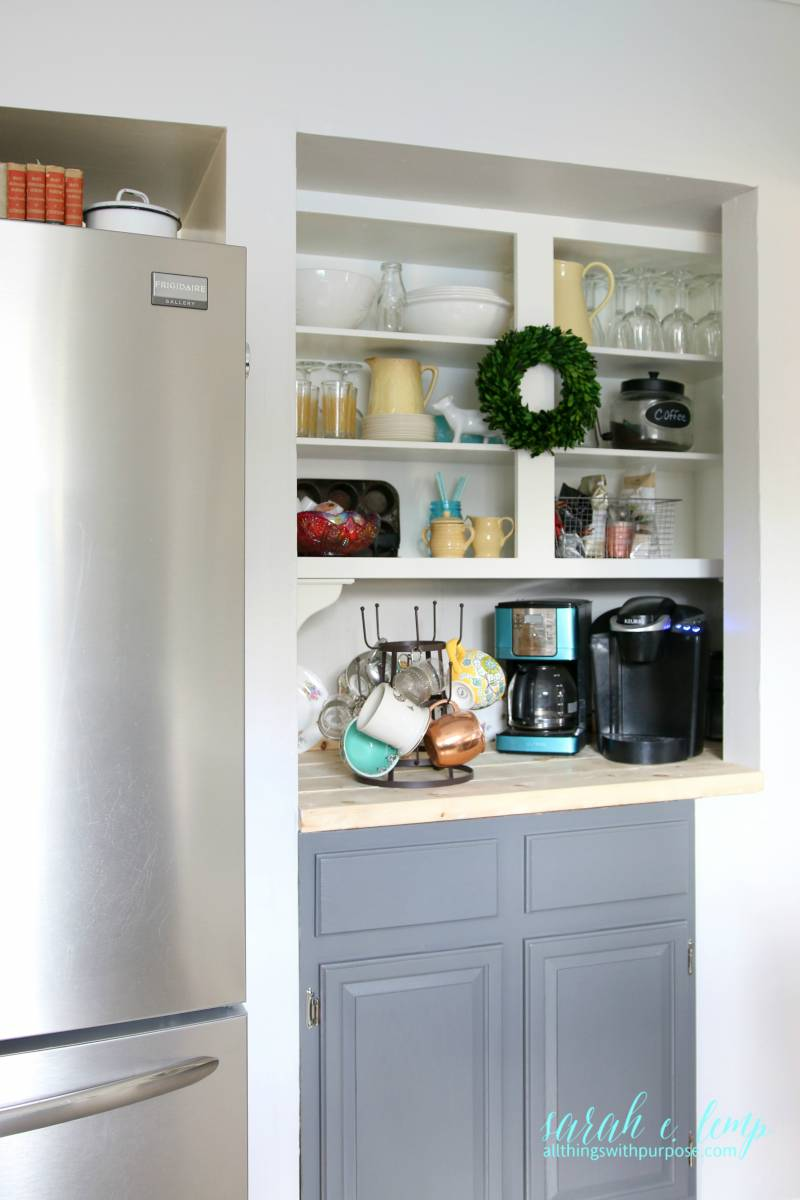 Remodelaholic  DIY BudgetFriendly White Kitchen