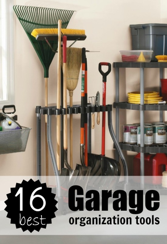 16 Best Garage Organization Tools Tipsaholic