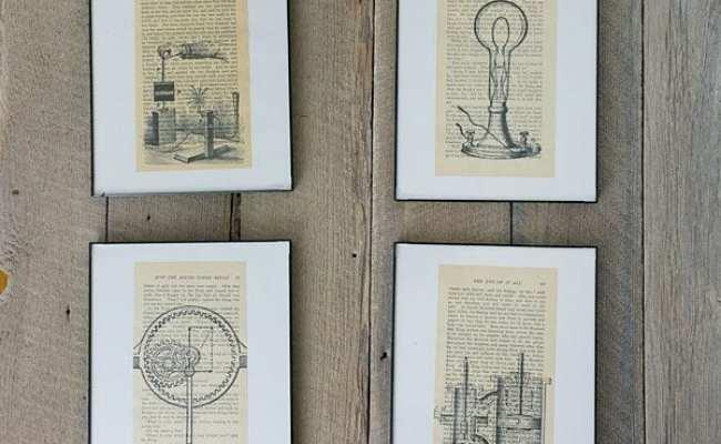 Remodelaholic 20 Diy Ideas For Vintage Wall Art