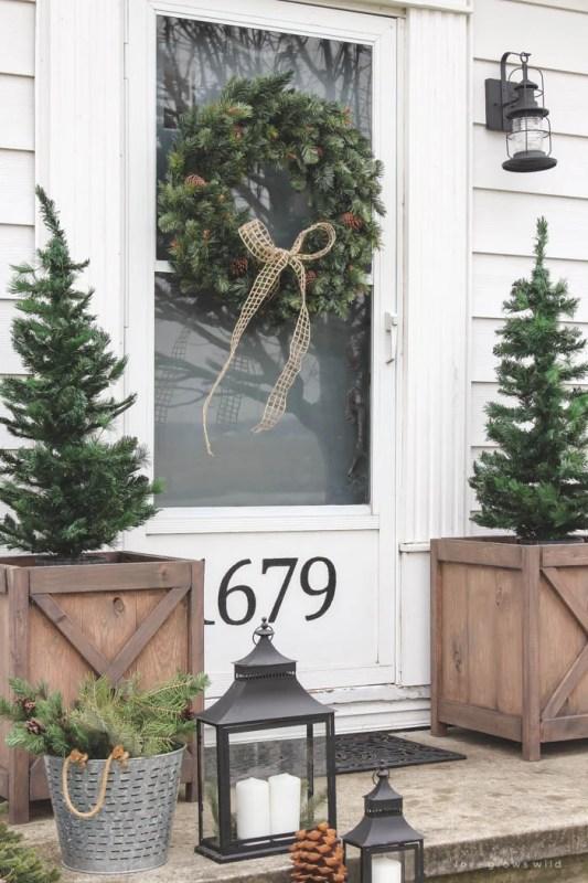 Christmas Porch Love Grows Wild