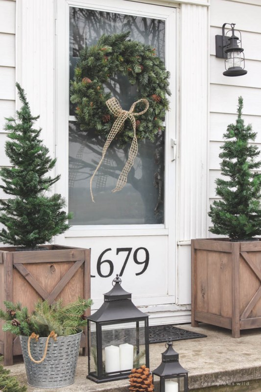 Christmas Porch Love Grows Wild