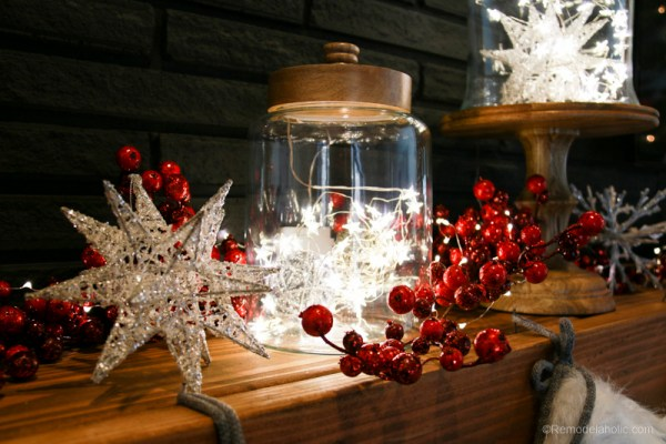 Christmas Mantel With Pier1 @remodelaholic 7 Of 20
